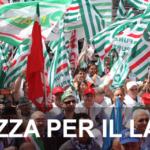MANIFESTAZIONE DI ROMA PER SABATO 22 GIUGNO 2013 ORGANIZZATA DA CGIL CISL UIL