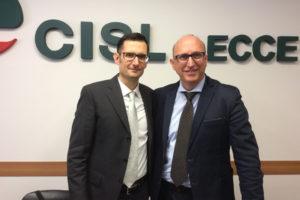 Gianni Bramato rieletto segretario generale della Fistel Cisl di Lecce