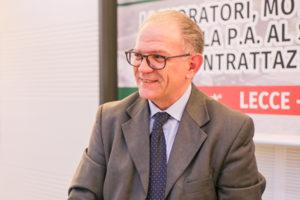 Giuseppe Melissano rieletto segretario generale della Fp Cisl di Lecce