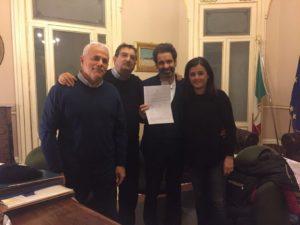 Siglato Protocollo d'intesa tra Cgil, Cisl e Uil e Comune di Lecce