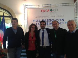 Donato Congedo rieletto segretario generale della Filca Cisl di Lecce