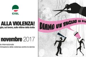 Coordinamento donne Cisl Lecce dice no alla violenza sulle donne