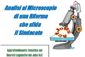 Jobs Act: giornata di approfondimento sui Decreti