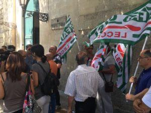 Piena disponibilità assicurata dal Vice Capo di Gabinetto della Prefettura di Lecce ai segretari Fai Cisl Flai Cgil e Filbi Uil per risolvere la situazione dei lavoratori dei consorzi di bonifica