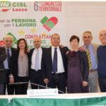Gianluigi Visconti eletto segretario generale della Fai Cisl di Lecce