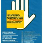 Al via le assemblee sindacali dei lavoratori postali per fermare la privatizzazione di Poste italiane
