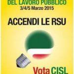 Accendi le RSU. Da oggi al 5 marzo Elezioni RSU con 400 candidati per la Funzione Pubblica della Cisl di Lecce