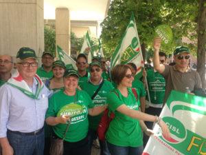 Fisascat Cisl Lecce: massiccia partecipazione allo sciopero del settore sicurezza privata