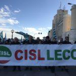 """#Futuroallavoro Antonio Nicolì segretario generale Cisl Lecce: """"Tante le ragioni per manifestare domani a Roma"""""""