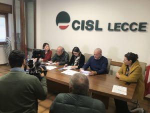 Firmato il protocollo di intesa tra Cisl Lecce e Asloc