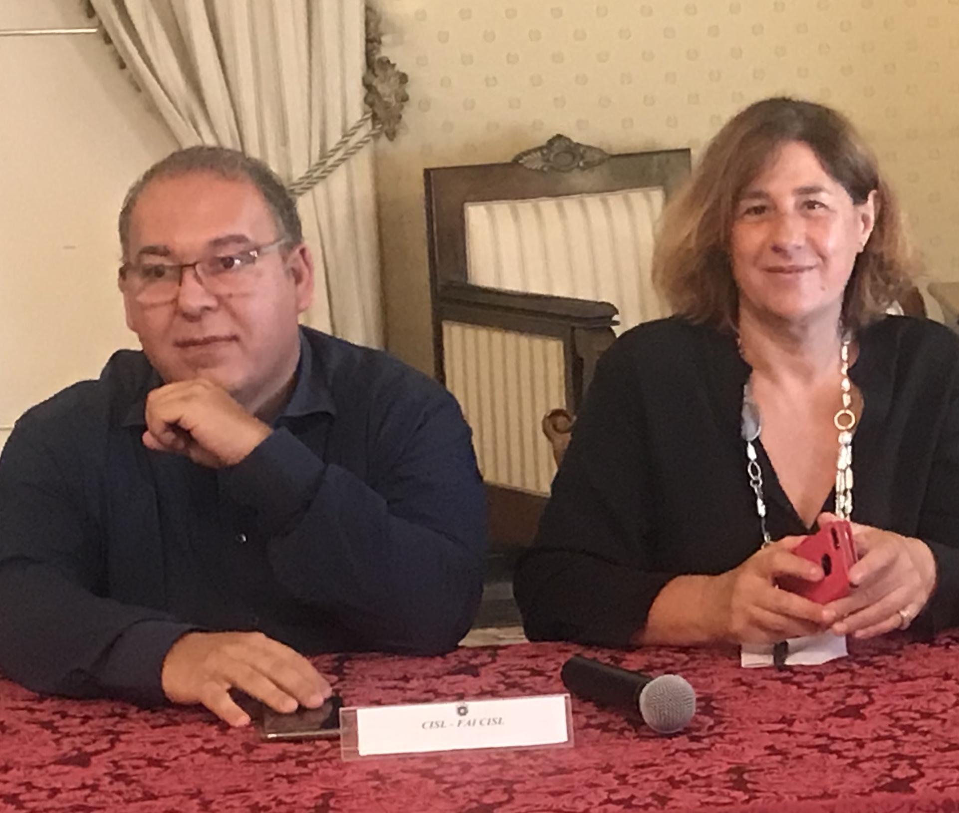 I segretari Chirizzi e Visconti oggi in Prefettura per la costituzione della sezione territoriale della Rete del lavoro agricolo di qualità