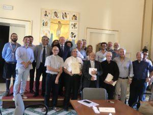 """La Cisl di Lecce sottoscrive la """"Carta dei Servizi""""del progetto Policoro della Diocesi di Lecce a favore di giovani e lavoro"""