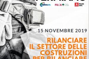Filca Cisl: Comunicato stampa sulla Giornata di Mobilitazione del 15 Novembre
