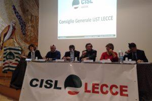 CONSIGLIO GENERALE CISL LECCE