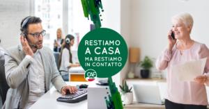 CAF CISL: RESTIAMO A CASA MA RIMANIAMO IN CONTATTO