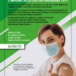 """Parte la Campagna Cisl sui vaccini: """"Il nostro impegno per proteggere tutti"""""""